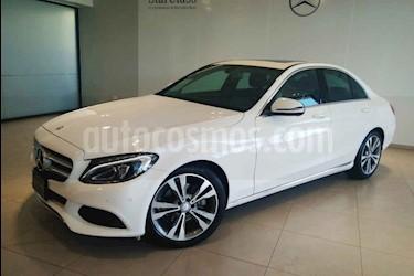 Mercedes Benz Clase C 4p C 200 Sport L4/2.0/T Aut usado (2017) color Blanco precio $409,500
