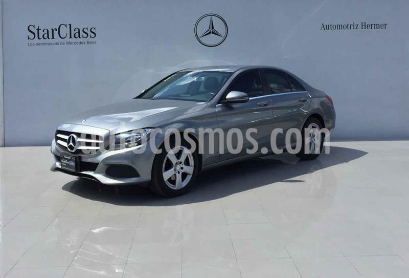 Mercedes Benz Clase C 180 Aut usado (2016) color Plata precio $269,900