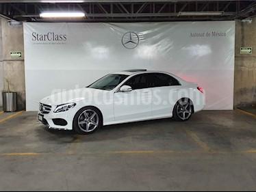 Mercedes Benz Clase C 4p C 250 Sport L4/2.0/T Aut usado (2018) color Blanco precio $529,000