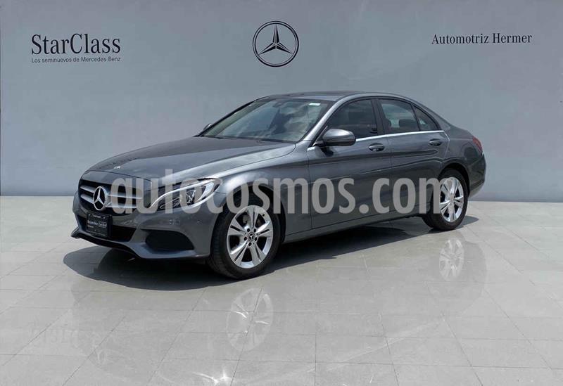 Mercedes Clase C 200 CGI Exclusive Aut usado (2018) color Gris precio $419,900