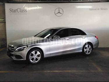 Mercedes Benz Clase C 200 CGI Sport Aut usado (2016) color Plata precio $389,000