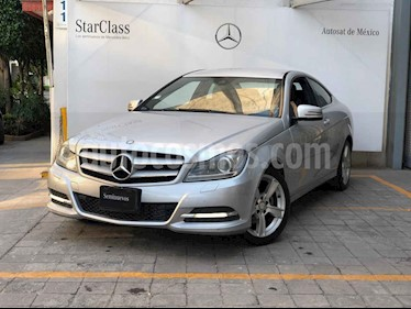 Mercedes Benz Clase C 250 CGI Coupe Aut usado (2012) color Plata precio $215,000