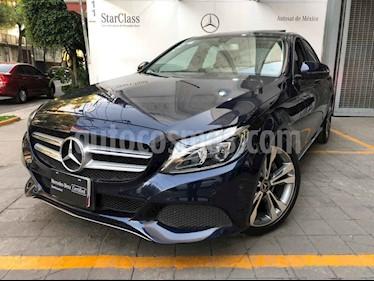 Mercedes Benz Clase C 4p C 200 Sport L4/2.0/T Aut usado (2018) color Azul precio $465,000