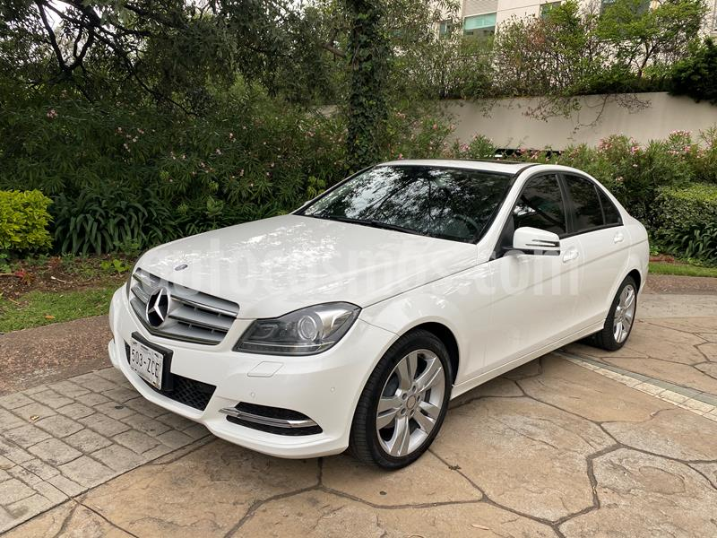 Mercedes Benz Clase C 200 CGI Exclusive Plus Aut usado (2014) color Blanco precio $238,000
