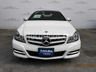 Mercedes Benz Clase C 250 CGI Coupe Aut usado (2014) color Blanco precio $280,000