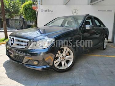 Mercedes Benz Clase C 4p C 200 CGI Exclusive aut usado (2012) color Gris precio $205,000