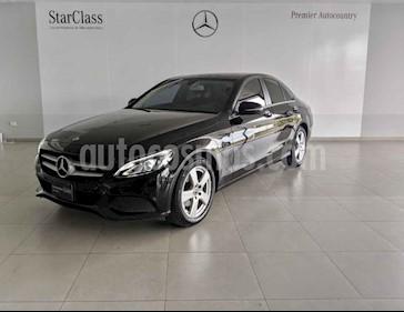 Mercedes Benz Clase C 4p C 180 L4/1.6/T Aut usado (2018) color Negro precio $410,000