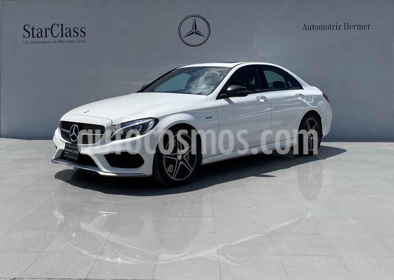 Mercedes Benz Clase C 450 CGI 4Matic Sport Aut usado (2016) color Plata precio $519,900