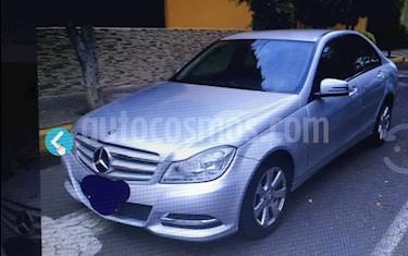 Mercedes Benz Clase C 180 CGI Coupe Aut  usado (2013) color Plata precio $197,500