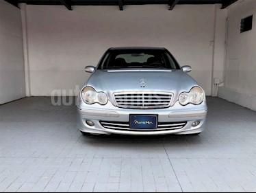 Mercedes Benz Clase C 4p C 280 Elegance aut usado (2007) color Plata precio $124,000