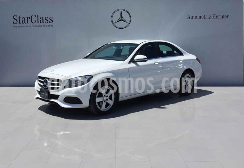 Mercedes Benz Clase C 180 CGI usado (2017) color Blanco precio $349,900