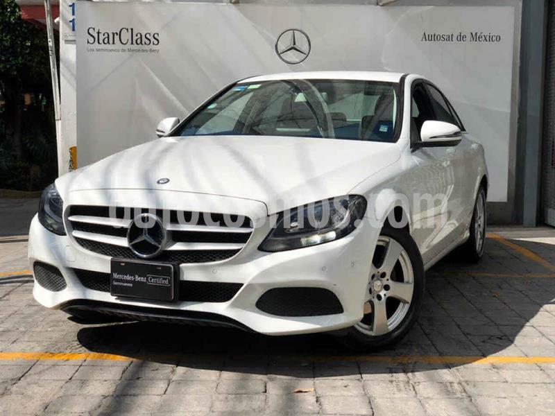 Mercedes Benz Clase C 180 CGI usado (2017) color Blanco precio $370,000