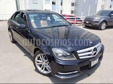 Mercedes Benz Clase C 4p C 200 CGI Sport aut usado (2013) color Negro precio $210,000