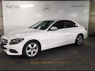 Mercedes Benz Clase C 4p C 180 L4/1.6/T Aut usado (2018) color Blanco precio $419,000