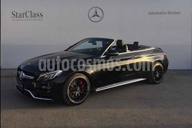 Mercedes Benz Clase C 2p C 63 AMG S Convertible V8/4.0/T Aut usado (2017) color Negro precio $1,149,900