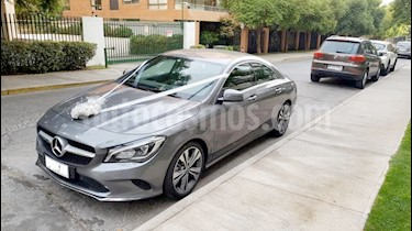 Mercedes Benz Clase CLA 180 Plus usado (2018) color Gris precio $18.490.000