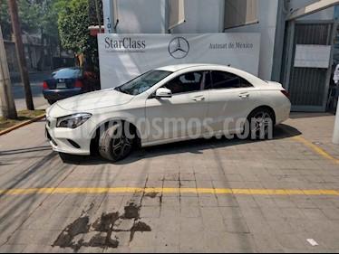 Foto venta Auto usado Mercedes Benz Clase CLA 200 CGI (2017) color Blanco precio $343,950