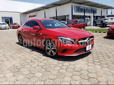 Foto venta Auto usado Mercedes Benz Clase CLA 200 CGI (2018) color Rojo precio $375,000
