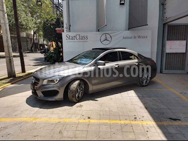 Foto venta Auto usado Mercedes Benz Clase CLA 250 CGI Sport Edition 1 (2016) color Gris precio $465,000