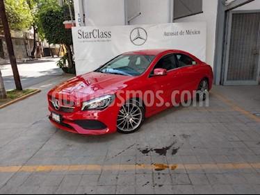 Foto venta Auto usado Mercedes Benz Clase CLA 250 CGI Sport (2017) color Rojo precio $470,000