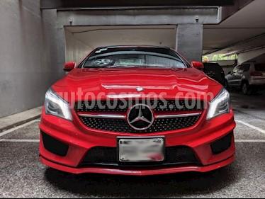 Mercedes Benz Clase CLA 250 CGI Sport usado (2016) color Rojo precio $390,000