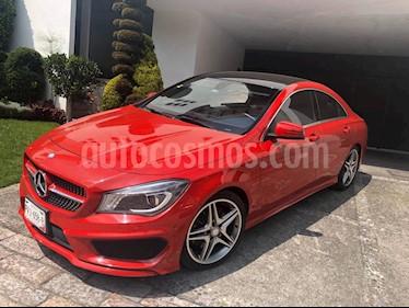 Mercedes Benz Clase CLA 250 CGI Sport usado (2015) color Rojo precio $380,000