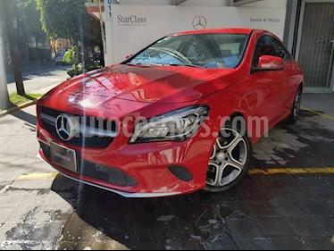 Mercedes Benz Clase CLA 4p 200 CGI Sport L4/1.6/T Aut usado (2017) color Rojo precio $390,000