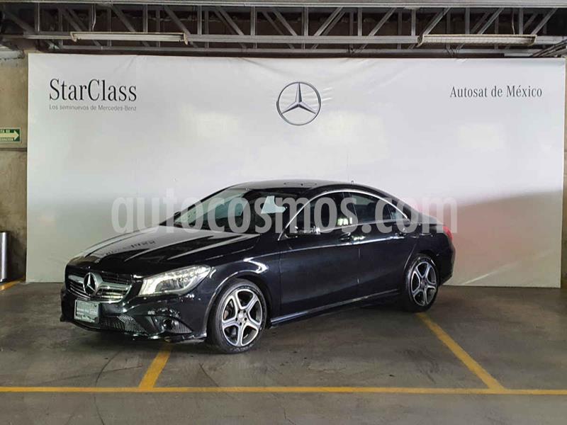 Mercedes Benz Clase CLA 200 CGI Sport usado (2016) color Negro precio $299,000