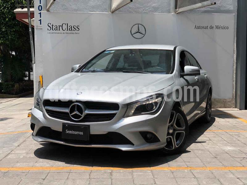 Mercedes Benz Clase CLA 200 CGI usado (2016) color Plata precio $355,000