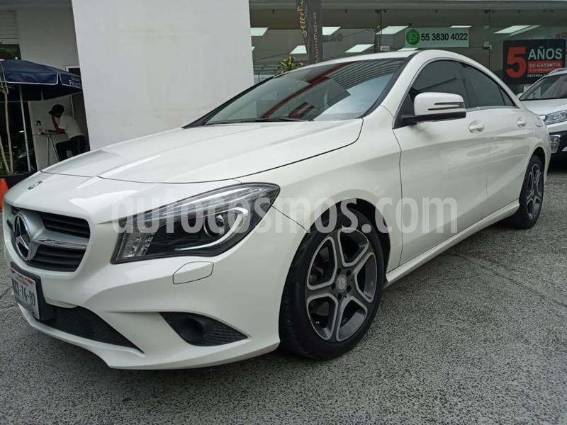 Mercedes Benz Clase CLA 200 CGI Sport usado (2016) color Blanco precio $298,000