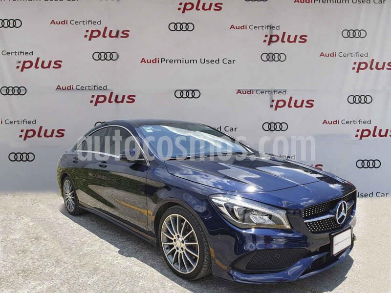 Mercedes Benz Clase CLA 250 CGI Sport usado (2017) color Azul precio $400,000