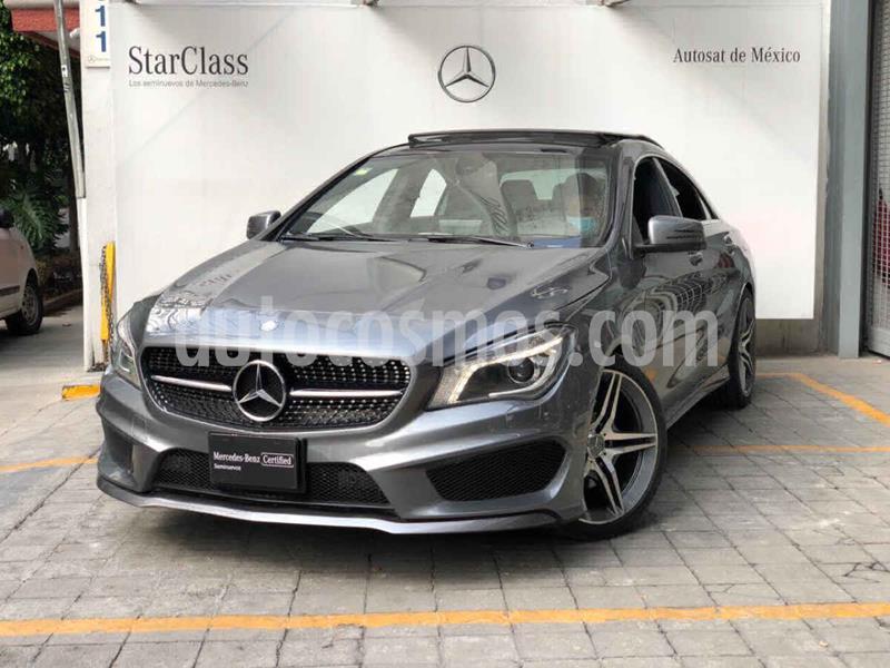 Mercedes Benz Clase CLA 250 CGI Sport usado (2016) color Gris precio $395,000