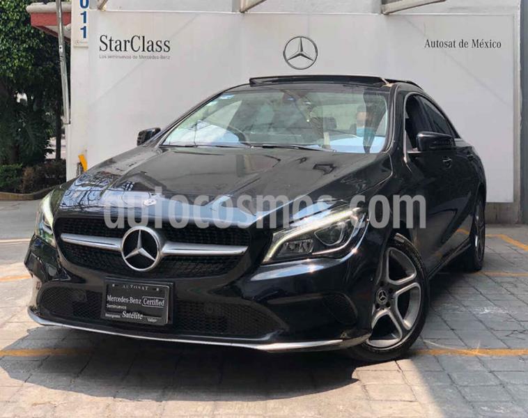 Mercedes Benz Clase CLA 200 CGI Sport usado (2018) color Negro precio $440,000