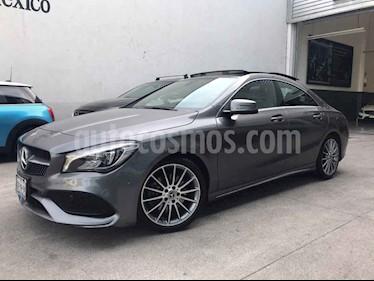 Mercedes Benz Clase CLA 250 CGI Sport usado (2018) color Gris precio $485,000