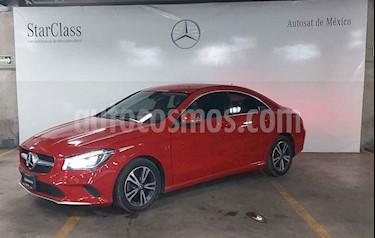 Mercedes Benz Clase CLA 4p 200 CGI L4/1.6/T Aut usado (2018) color Rojo precio $429,000