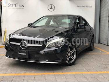 Mercedes Benz Clase CLA 4p 200 CGI Sport L4/1.6/T Aut T/Panoramico usado (2017) color Negro precio $355,000