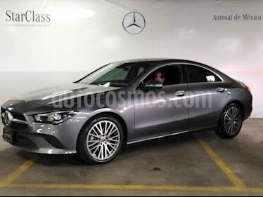 Mercedes Benz Clase CLA 4p CLA 200 Progressive usado (2020) color Gris precio $629,000