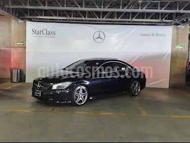 Mercedes Benz Clase CLA 4p 250 CGI Sport L4/2.0/T Aut usado (2016) color Negro precio $379,000