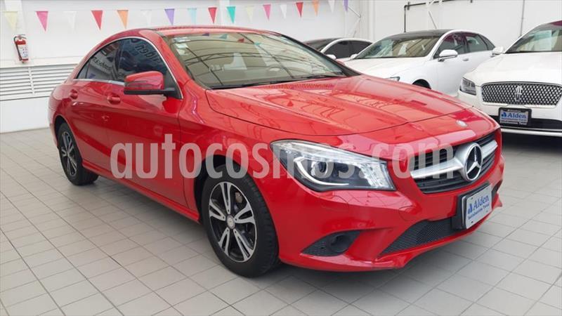 Mercedes Benz Clase CLA 180 CGI usado (2016) color Rojo precio $318,000