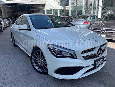 Mercedes Benz Clase CLA 4p 250 CGI Sport L4/2.0/T Aut usado (2018) color Blanco precio $485,000