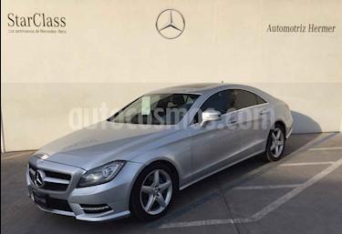 Foto venta Auto usado Mercedes Benz Clase CLS 350 CGI (2014) color Plata precio $449,900