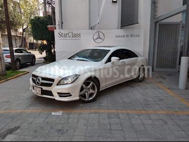 Foto venta Auto usado Mercedes Benz Clase CLS 350 CGI (2014) color Blanco precio $495,000