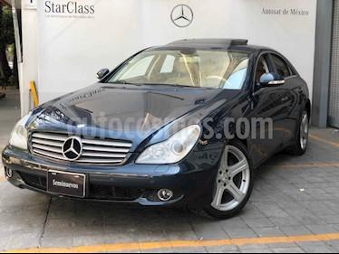 Mercedes Benz Clase CLS 4p CLS 500 aut usado (2007) color Gris precio $205,000