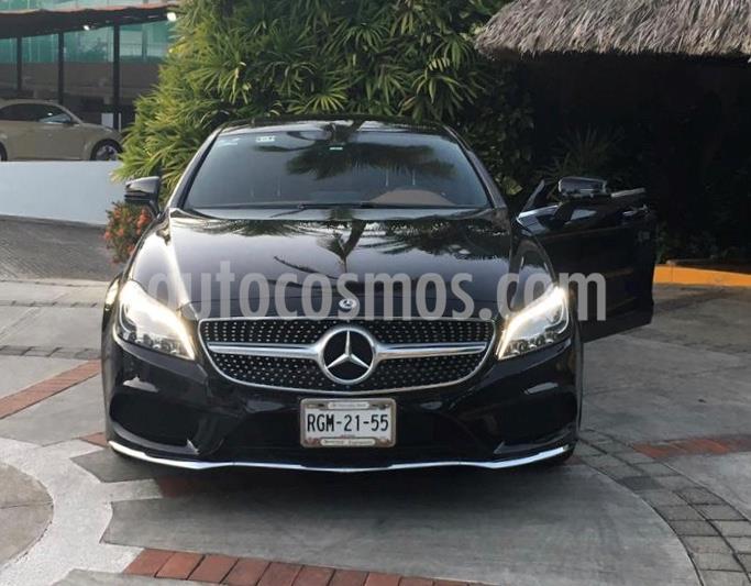 Mercedes Benz Clase CLS 400 CGI usado (2017) color Negro precio $550,000