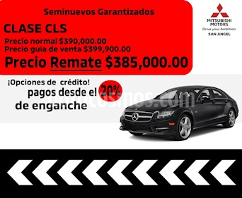 Mercedes Benz Clase CLS 350 CGI usado (2014) color Gris Pedernal precio $385,000