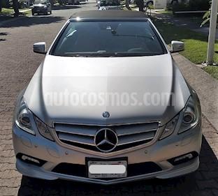 Foto venta Auto usado Mercedes Benz Clase E Convertible 350 (2011) color Plata precio $335,000