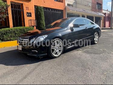 Foto venta Auto usado Mercedes Benz Clase E Coupe 350 (2011) color Negro precio $345,000