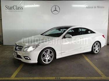 Foto venta Auto usado Mercedes Benz Clase E Coupe 350  (2011) color Blanco precio $289,000