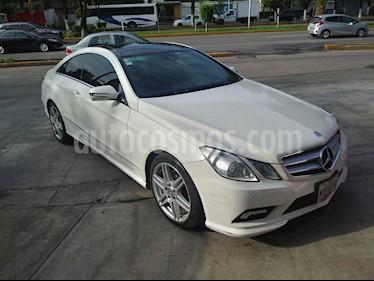 Foto venta Auto usado Mercedes Benz Clase E Coupe 350  (2010) color Blanco precio $189,000