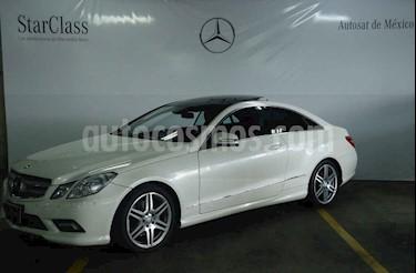 Foto venta Auto usado Mercedes Benz Clase E Coupe 350  (2011) color Blanco precio $319,000